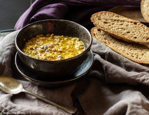 Zuppa di verdure e fiocchi d'avena
