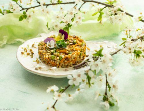 Insalata di grano saraceno primavera