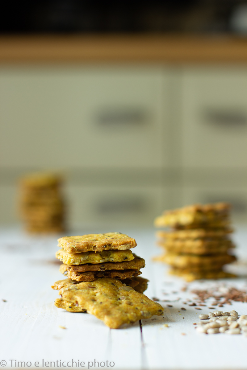 Crackers ai semi senza glutine