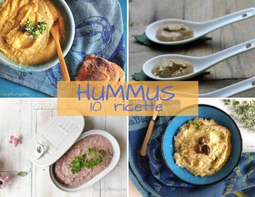 Hummus 10 ricette facili – raccolta