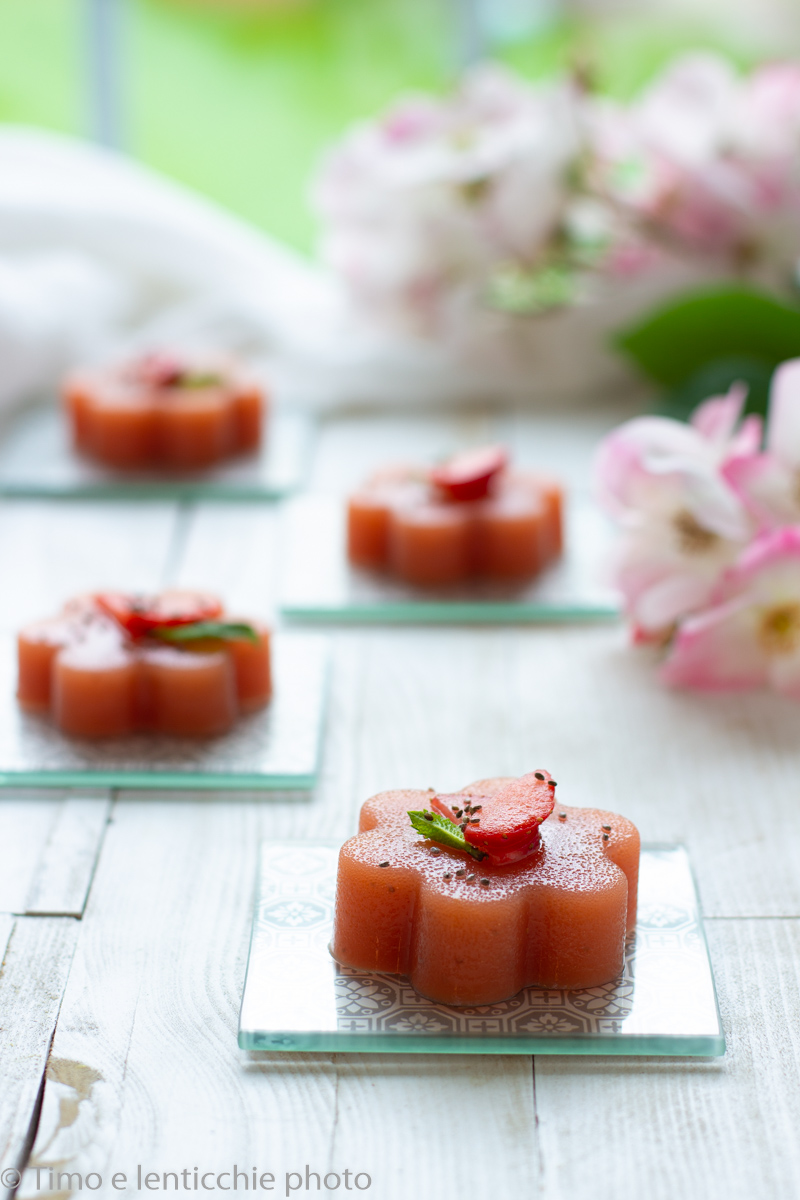 Budino di frutta con agar agar