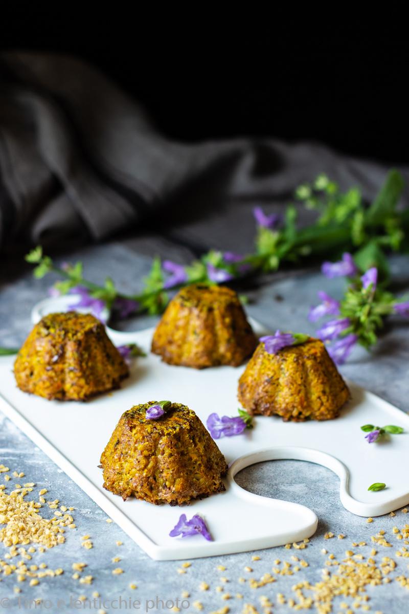 Tortini di bulgur al curry