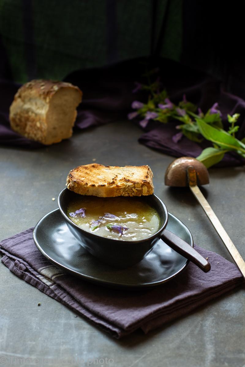 zuppa di cipolle leggerissima 1