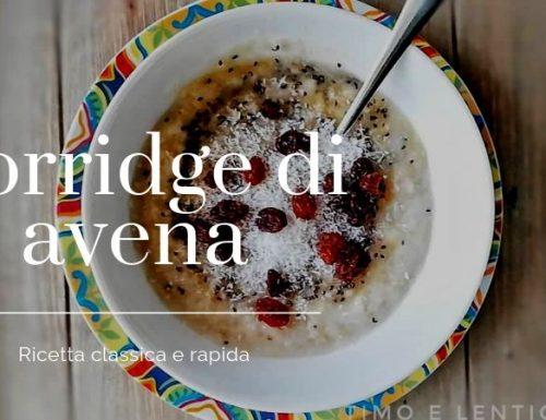 Porridge di avena classico perfetto