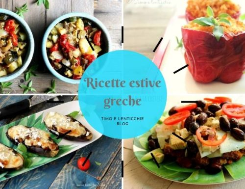 Ricette estive greche vegetariane