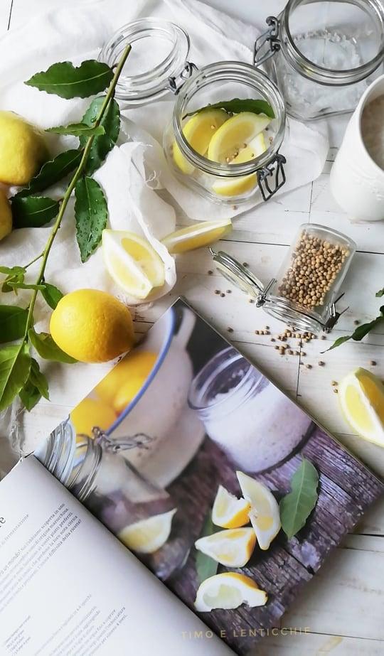 i limoni sotto sale - limoni confit
