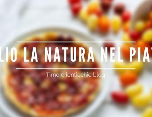 Luglio la natura nel piatto