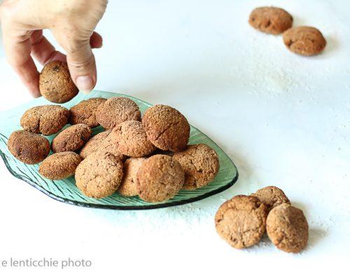 Biscottini cocco e cioccolato semplicissimi