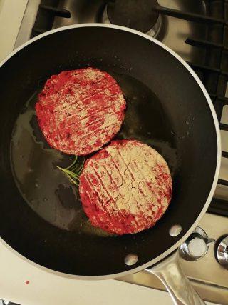 Burger di barbabietola - rapa rossa 4