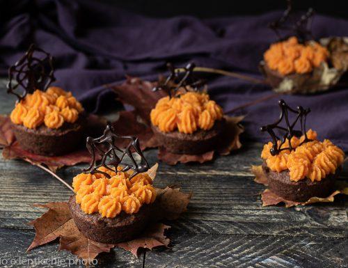 Muffin agli azuki vestiti da Halloween