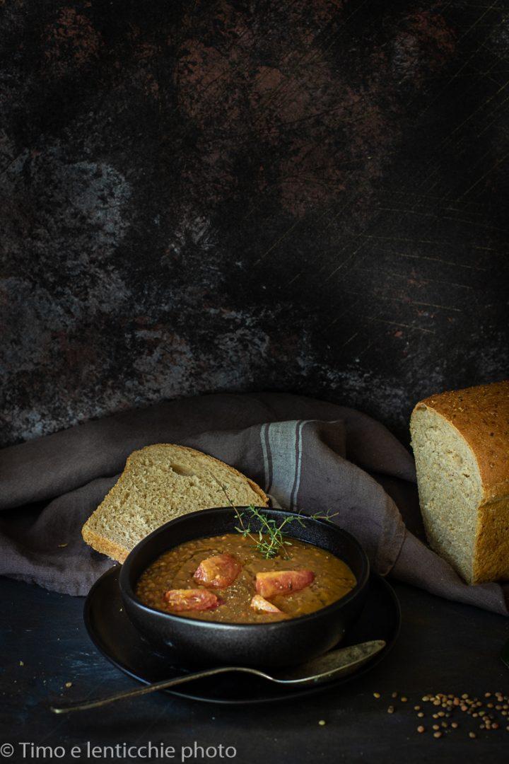 Zuppa di lenticchie di Spello