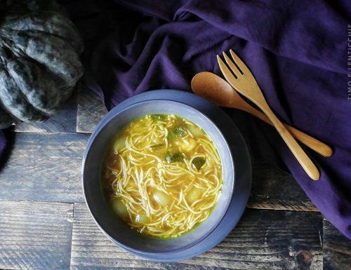 Zuppa di noodles velocissima