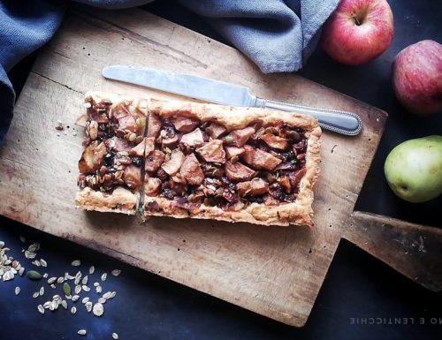Crostata pere mele e muesli ricetta