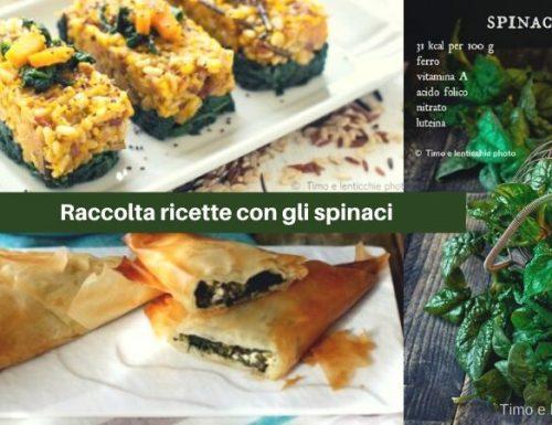 Ricette con gli spinaci raccolta