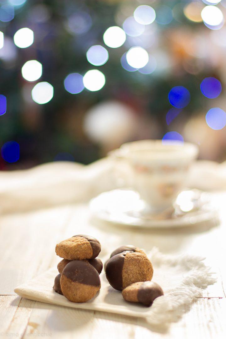 Biscotti al burro di cacao 1