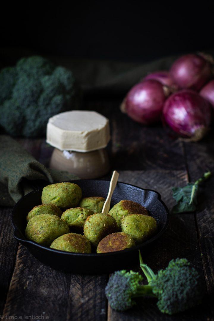 polpette di broccolo con fermentino