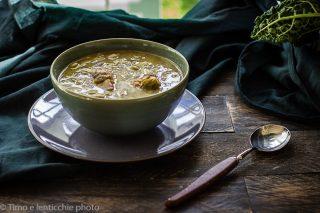 Zuppa di edamame e carciofi 2
