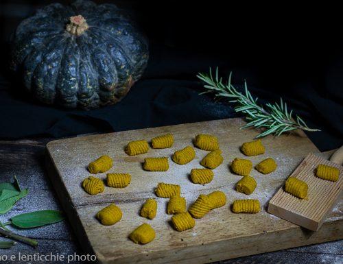 Gnocchi di zucca e grano saraceno
