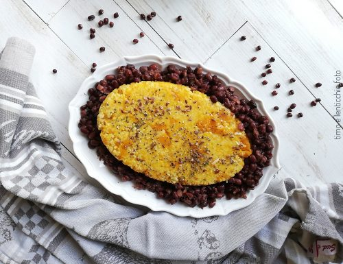 Zucca, miglio, azuki – tortino macromediterraneo
