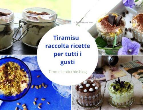 Tiramisu per tutti i gusti – raccolta ricette
