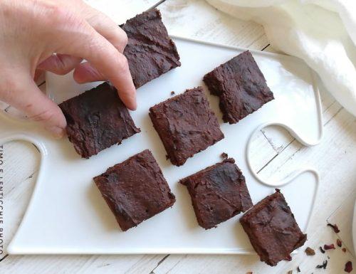 Brownie di Berrino basso indice glicemico