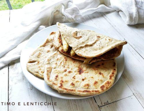 Piadine con farina 2 ricetta facile
