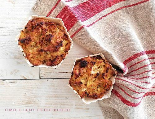 Porridge muffin velocissimi