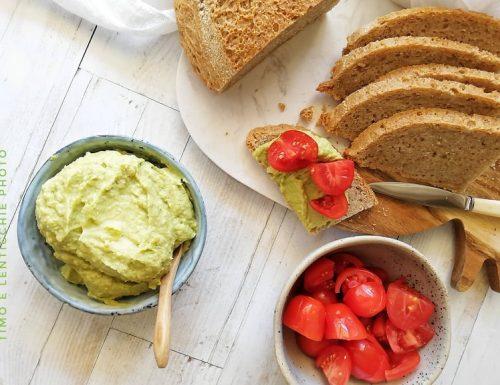 Hummus di avocado velocissimo