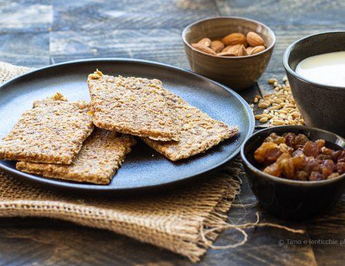 Gallette dolci germogliate -Pane degli Esseni dolce
