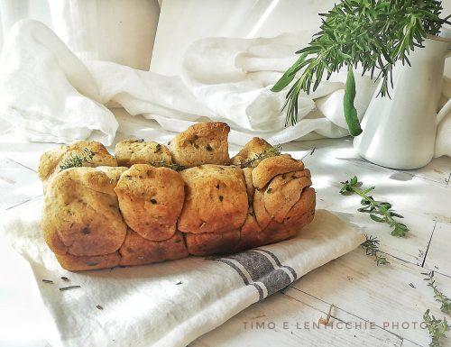 Pane velocissimo al rosmarino