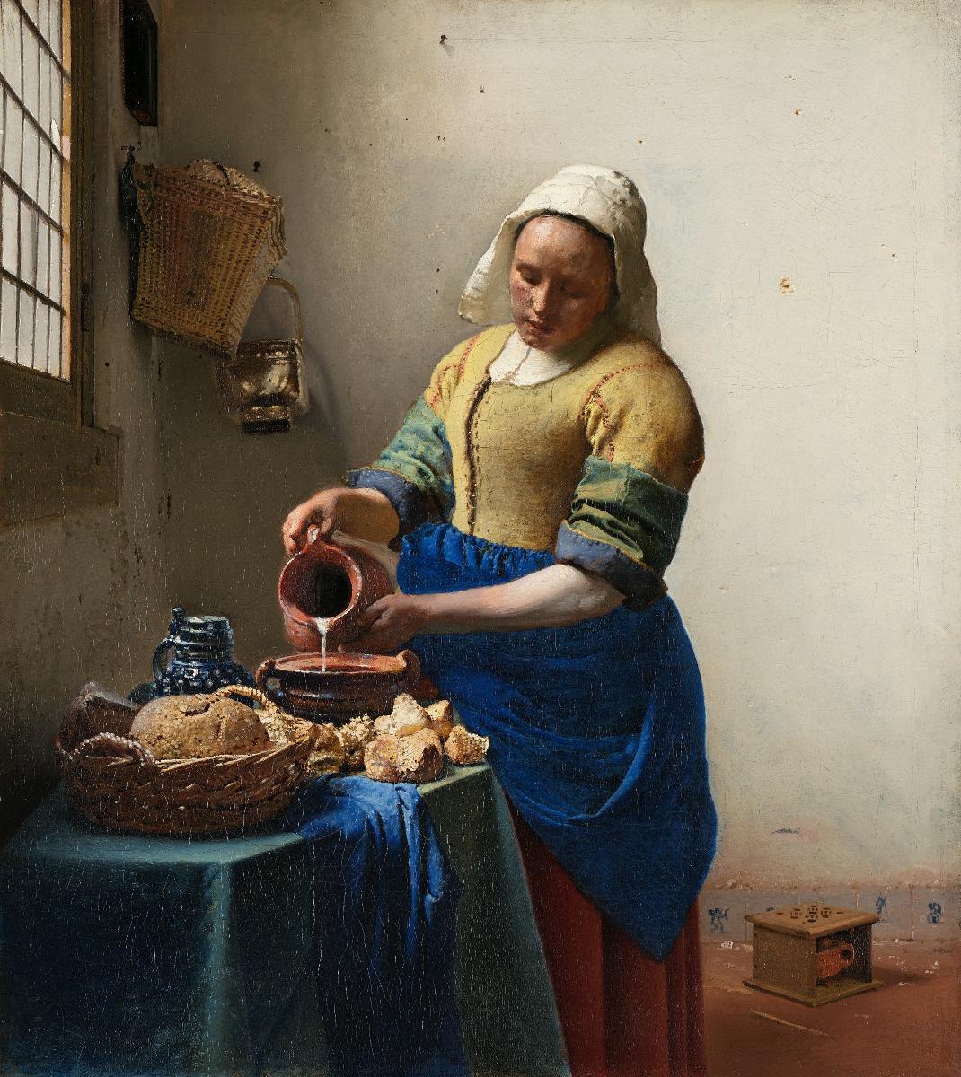 la lattaia di vermeer