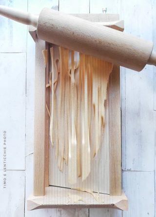 legno per fettuccine alla chitarra