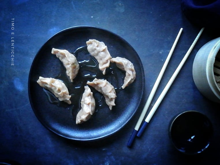 ravioli cinesi senza carne