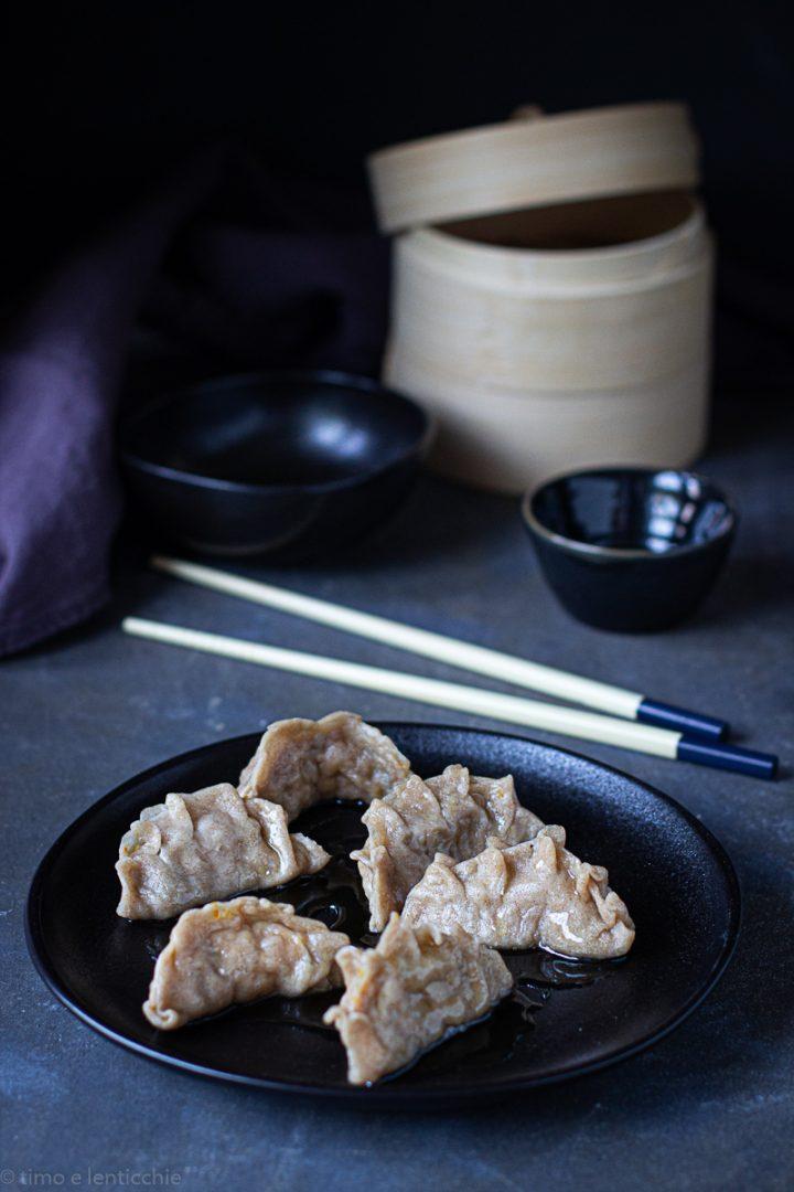 ravioli cinesi - gyoza al vapore