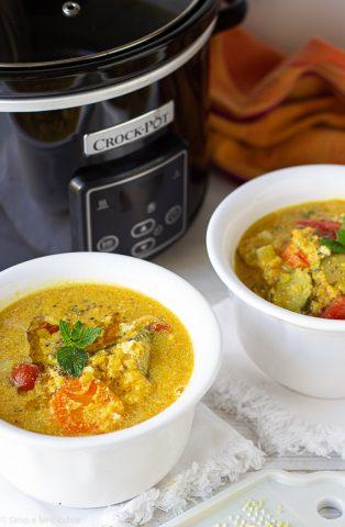zuppa di cocco in crock pot (2)