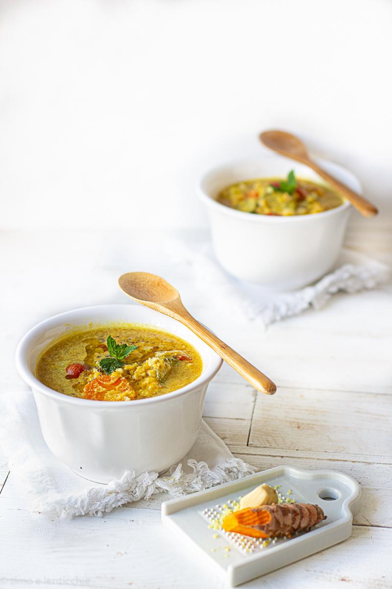 Zuppa al cocco in crock pot