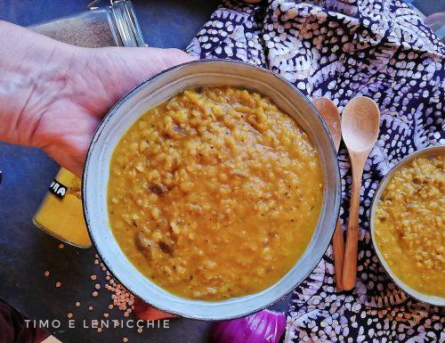 Zuppa di lenticchie speziata Caffè Babilonia