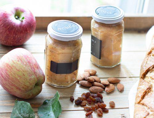 Confettura di mele allo strudel senza zucchero