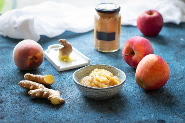 foto Composta di mele e zenzero
