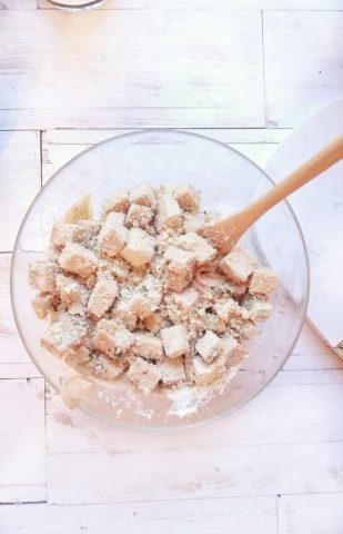 impanatura del tofu