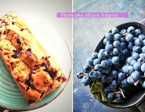 Plumcake all'uva fragola