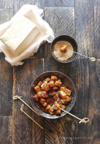 tofu i n agrodolce