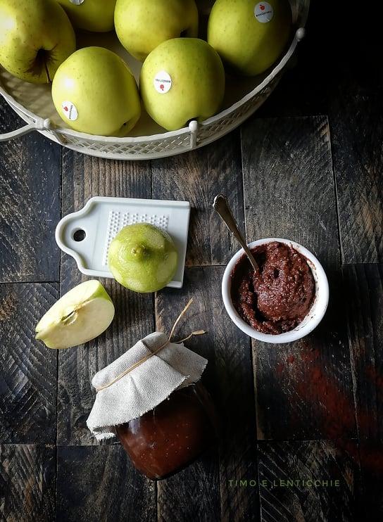 confettura di mee e cacao