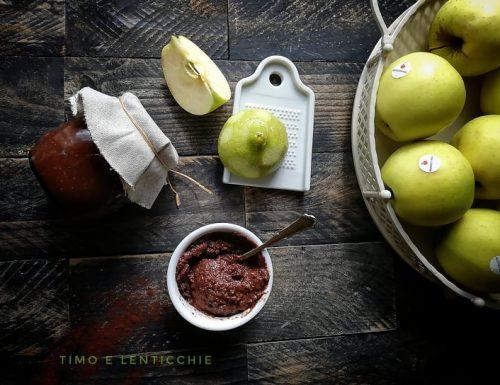 Confettura di mele e cacao al malto