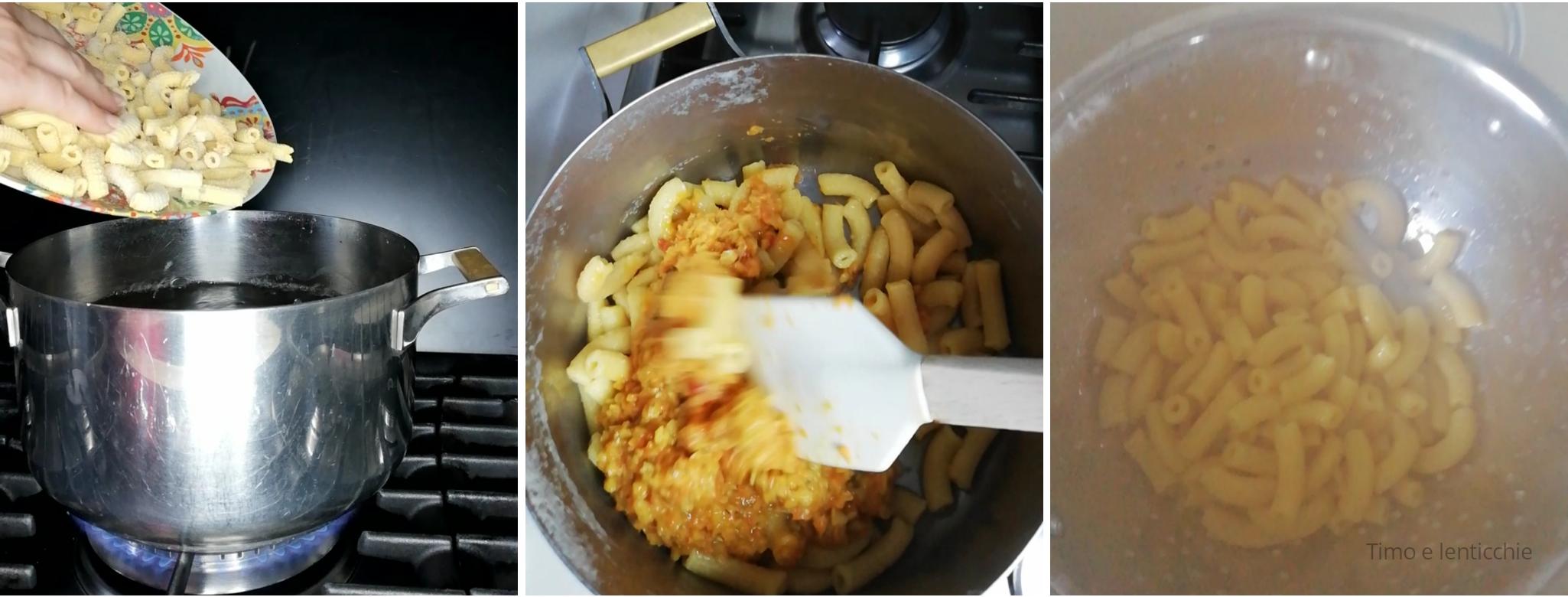 pasta al ragu di lenticchie 4