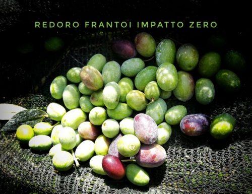 Redoro frantoi olio extravergine di oliva impatto zero