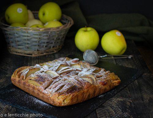Torta di mele golden sofficissima