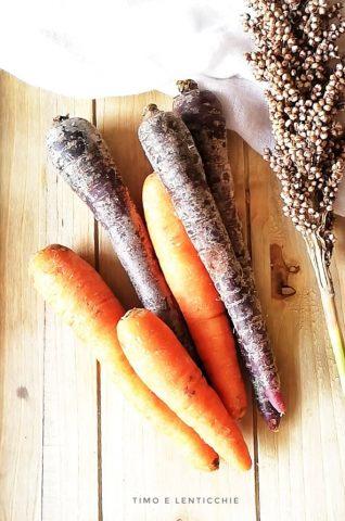 vellutata carote viola