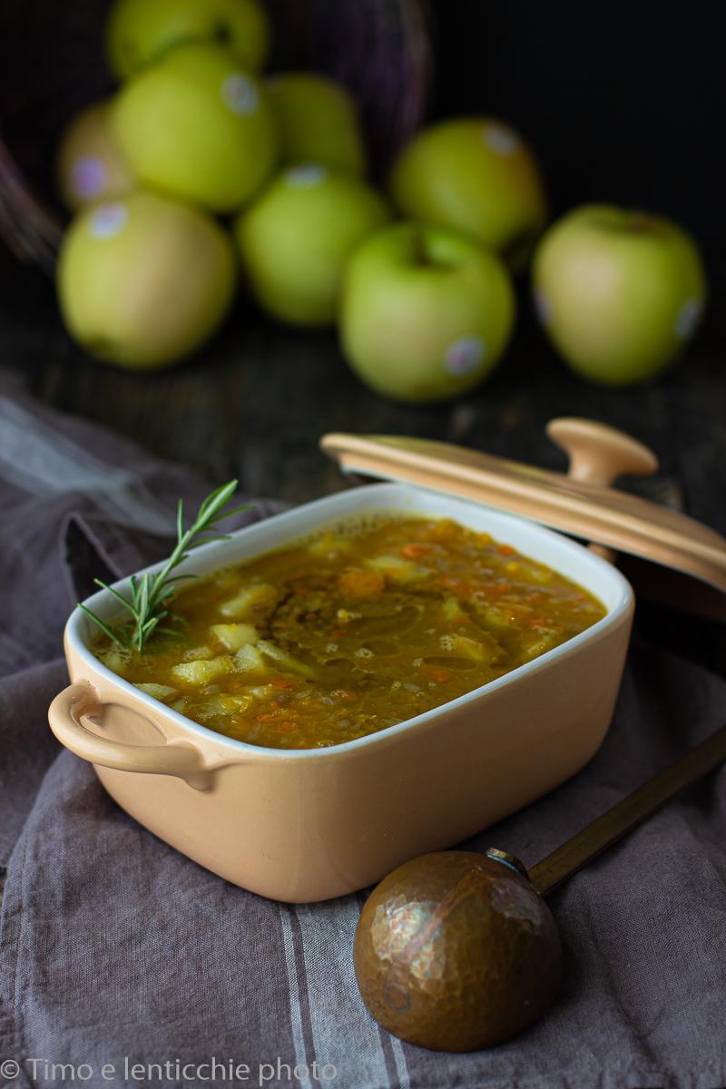 zuppa di mele e zucca