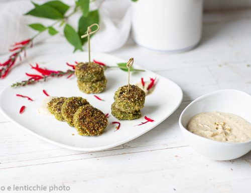 Polpette di quinoa al gomasio con zucca e spinaci